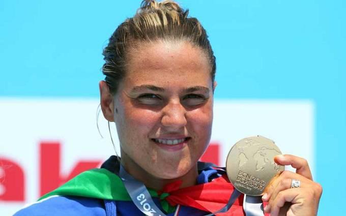 La nuotatrice bolognese Martina Grimaldi