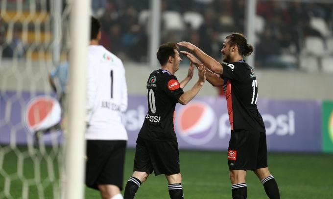 Messi e Osvaldo