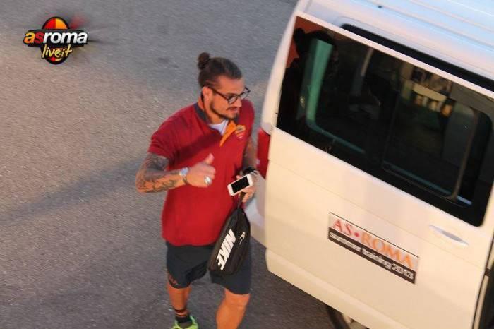 Daniel Osvaldo a Riscone