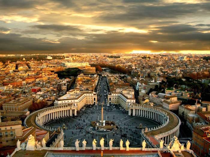 La città di Roma