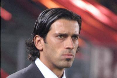 L'ex centrocampista giallorosso Alessio Scarchilli