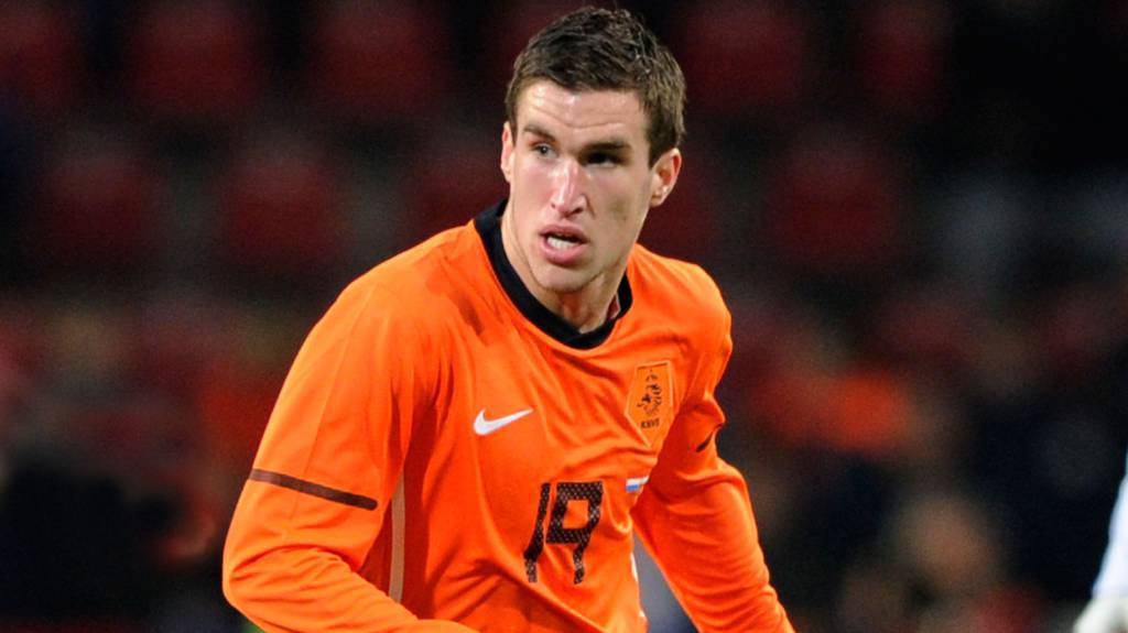 Il centrocampista olandese Kevin Strootman
