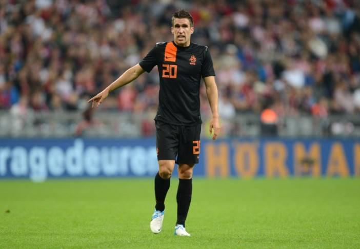 Kevin Strootman con la maglia dell'Olanda