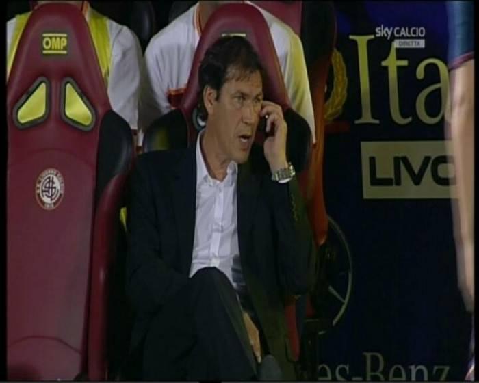 Garcia al telefono