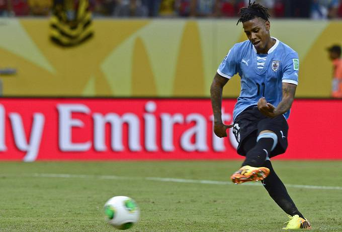 L'attaccante uruguaiano Abel Hernandez (Getty Images)