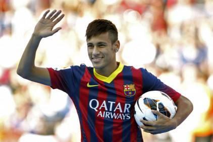 Neymar al Barcellona