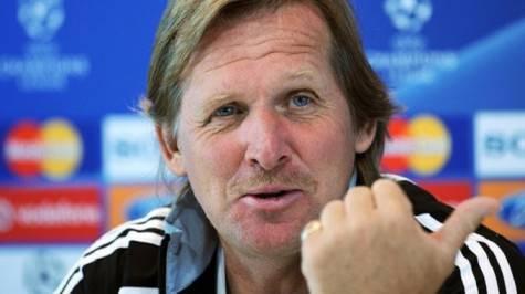 L'allenatore del Malaga Bernd Schuster