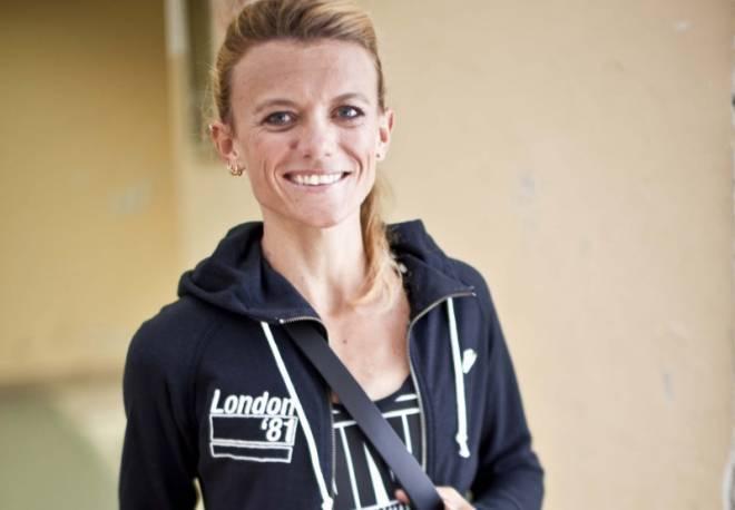 La maratoneta azzurra Valeria Straneo