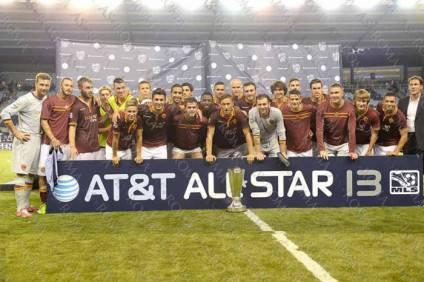 La Roma premiata all'All Star-Game