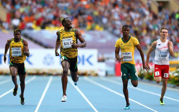 Bolt ai Mondiali