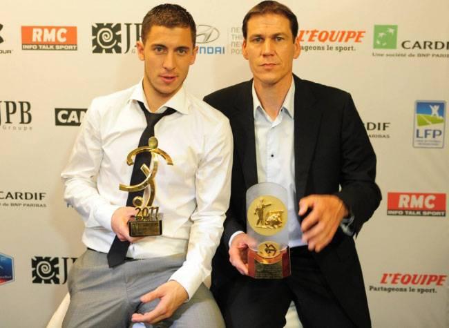 Hazard e Garcia ai tempi di Lille
