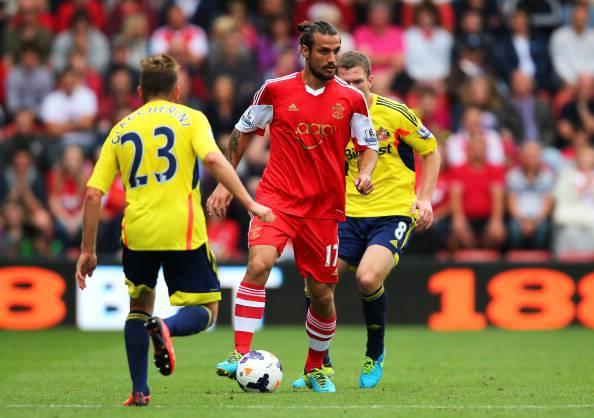 Pablo Daniel Osvaldo con la maglia del Southampton