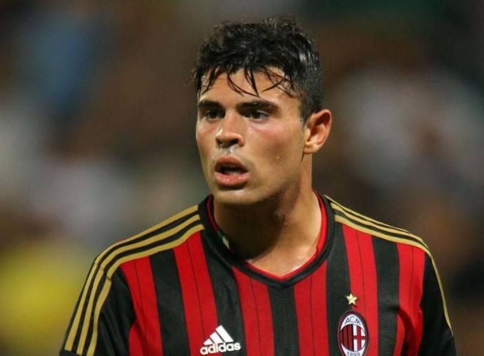 Andrea Petagna giovane del Milan