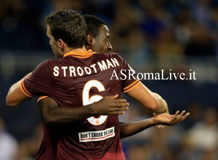 Strootman abbraccia Tallo