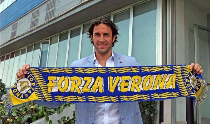 Luca Toni al Verona