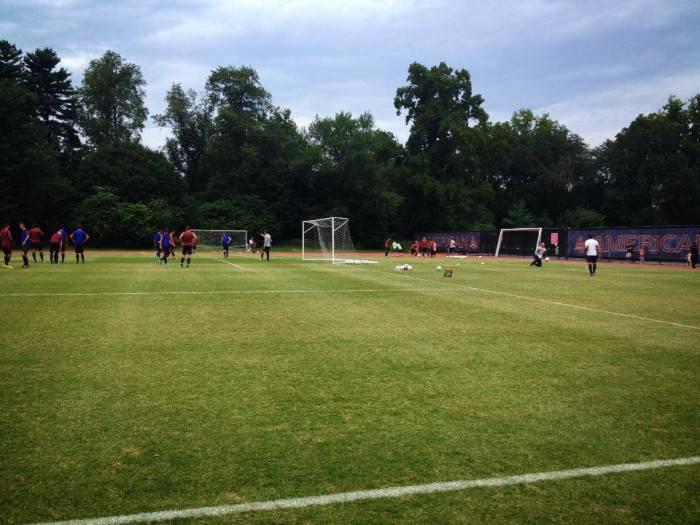 Il campo d'allenamento di Washington (foto asroma)