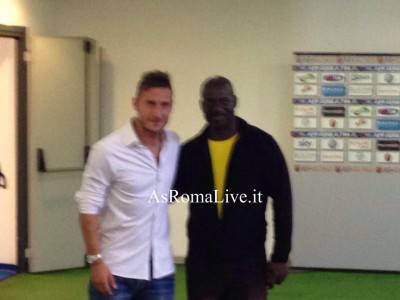 Francesco Totti e Ben Johnson