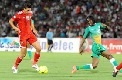 Gervinho contro il Marocco