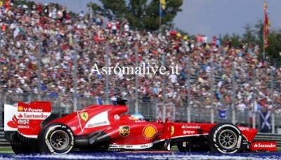 La Ferrari di Alonso a Monza (Getty Images)