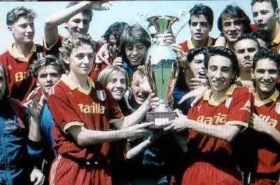 Daniele Marco Andrea e Francesco Totti