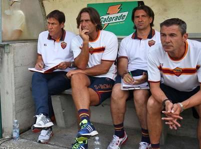 Garcia accanto a Bompard e Fichaux (ultimo a destra)