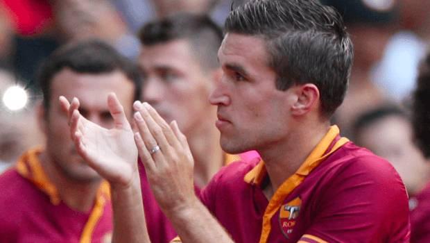 Roma-Verona Kevin Strootman