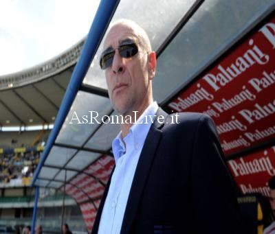 Davide Ballardini sulla panchina del Genoa