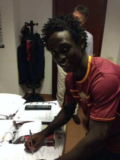 Il camerunense Cedric firma per la Roma