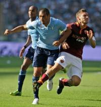 Il contrasto Dias-Totti