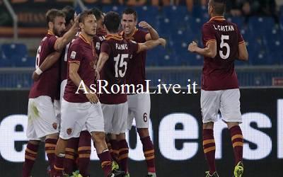 Esultanza gol Florenzi