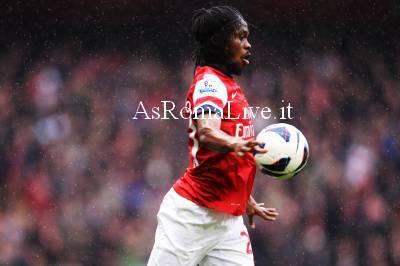 Gervinho ai tempi dell'Arsenal