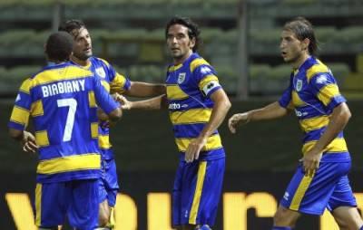 Il Parma vittorioso in amichevole