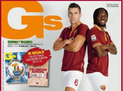 Strootman e Gervinho sulla copertina del Guerin Sportivo