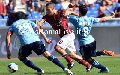 Francesco Totti nel derby
