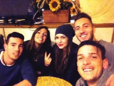 La foto postata da Florenzi