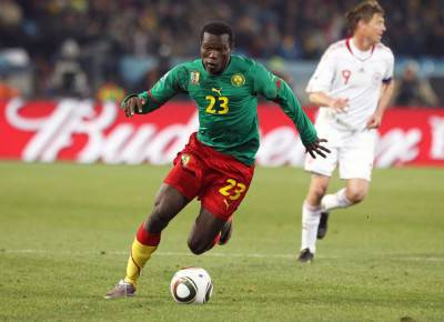 Il camerunense Aboubakar (foto Zimbio)