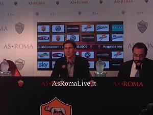 conferenza udinese-roma