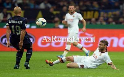 De Rossi contro l'Inter