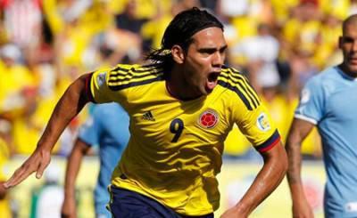 Falcao con la maglia della Colombia