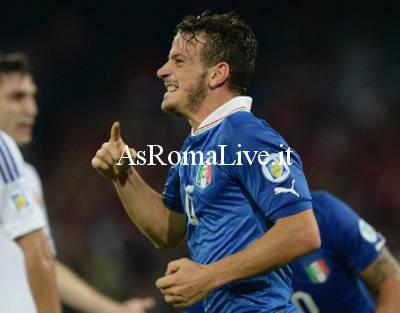 Florenzi in gol con l'Italia