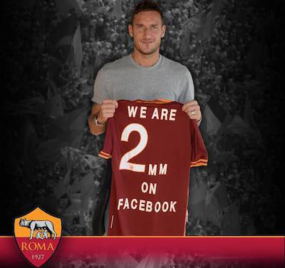 Totti (foto As Roma)