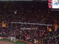 Roma Sassuolo Striscione