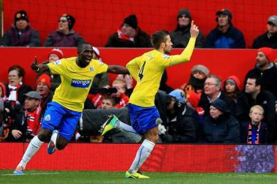 Cabaye in gol ad Old Trafford