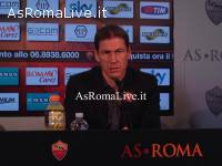 Garcia in conferenza stampa