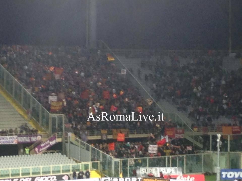 Tifosi Fiorentina-Roma