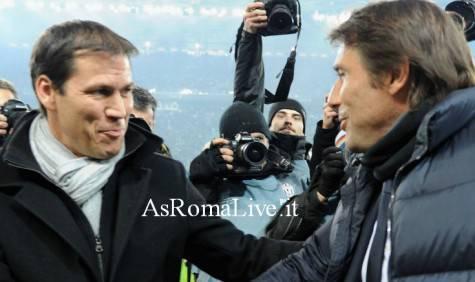 Rudi Garcia e Antonio Conte
