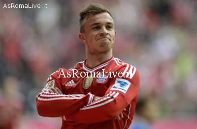 Shaqiri in maglia Bayern