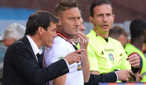 Garcia e Totti