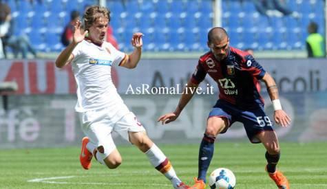 Genoa-Roma Jedvaj
