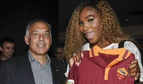 Pallotta e Serena Williams